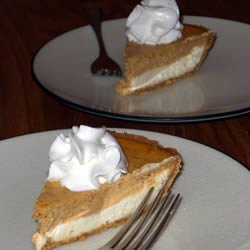 Pumpkin Layer Cheesecake recipe
