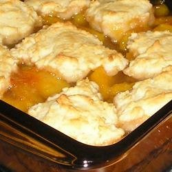 Fresh Peach Cobbler I recipe