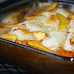 Peach Cobbler III recipe