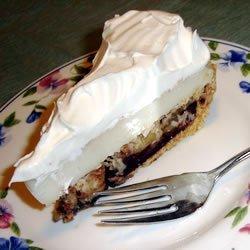 Chocolate Banana Cream Pie recipe