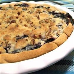 True Blue Custard Crunch Pie recipe