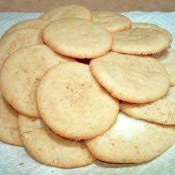 Powdered Sugar Cookies I recipe