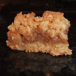 Caramel  Apple Bars III recipe