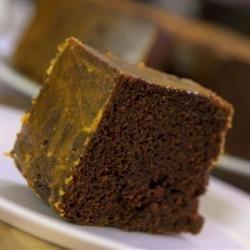 Zucchini Chocolate Orange Cake recipe