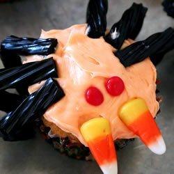 Spider Cupcakes recipe