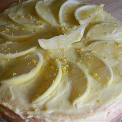 Lemon Chiffon Cake recipe