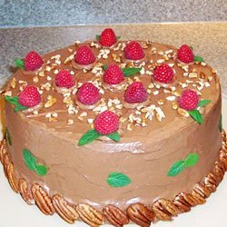 Chocolate Italian Cream Cake recipe