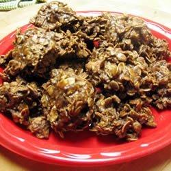 No Bake Chocolate Cookies II recipe