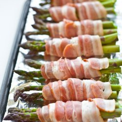 Roasted Asparagus Bundles recipe