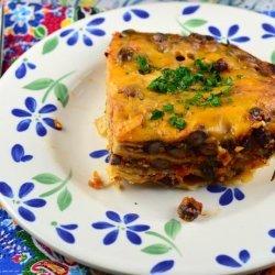 Black Bean and Tortilla Bake recipe