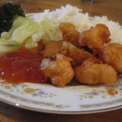 Kittencal's Chinese Chicken Balls With Sweet and Sour Sauce recipe