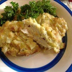 Artichoke and Chicken Bake recipe