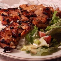 Thai Grilled Chicken Thighs recipe
