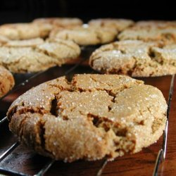 Soft, Spicy, Heavenly Ginger Cookies recipe