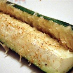 Easy Dinner Parmesan Zucchini recipe