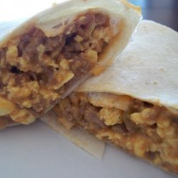 Breakfast Burritos (Once a Month Cooking) recipe
