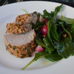 Herbed Pork Tenderloin recipe