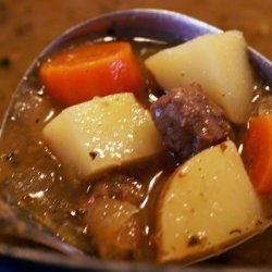 The Best Browned Beef Stew -- --Ever recipe