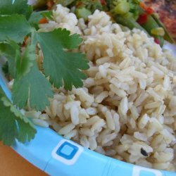 Alton Brown's Baked Brown Rice recipe