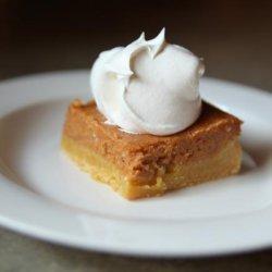 Pumpkin Gooey Butter Cake  (Paula Deen) recipe