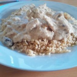Chicken Stroganoff - Crock Pot recipe