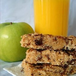 No-Bake Rice Krispies Peanut Butter Granola Bars (Lower-Fat) recipe
