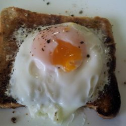 Microwave Poached Egg on Toast recipe