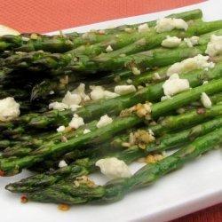 Roasted Asparagus with Feta recipe