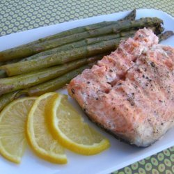 Salmon and Asparagus in Foil recipe