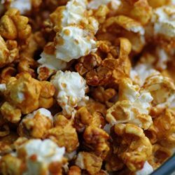 Caramel Popcorn (not too sweet or sticky) recipe