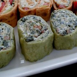 Spinach Pinwheel Appetizers recipe
