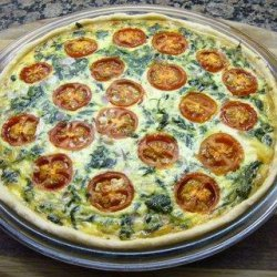 Quick n Easy Quiche Crust recipe
