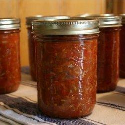 Zucchini Salsa, Canned recipe