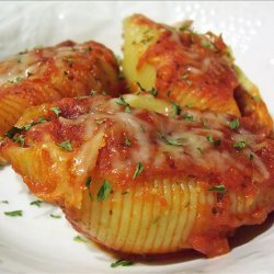 I Hate Ricotta Meat & 2 Cheese Stuffed Shells recipe
