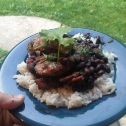 Chicken with Black Beans and Rice recipe