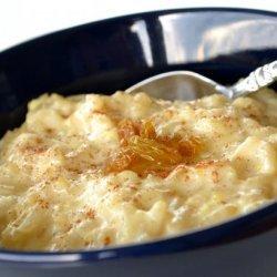 Yummy Creamy Rice Pudding recipe