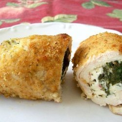 Spinach & Feta Stuffed Chicken Breast (Quick & Easy) recipe
