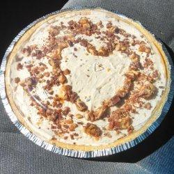 Easy Snickers Bar Pie recipe