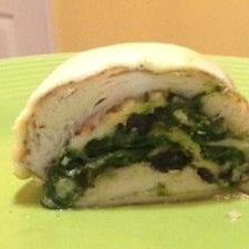 Spinach and Cheese Stuffed Chicken Breast #RSC recipe