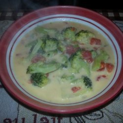 Weight Watchers Broccoli Cheese Soup - 2 Pts Per Cup recipe
