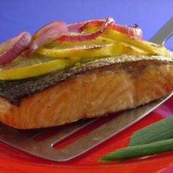 Grilled Lemon Salmon recipe