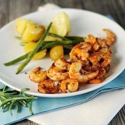 Grilled Lime Shrimp recipe