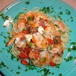 Greek Baked Shrimp with Feta recipe