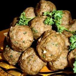 Baked Italian Meatballs recipe
