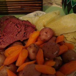 Crock Pot Corned Beef Dinner recipe