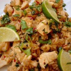 Thai Chicken Fried Rice with Basil - Kao Pad Krapao recipe