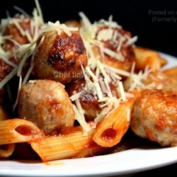 Chicken Meatballs For Spaghetti and Meatballs recipe