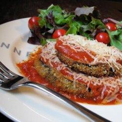 Martha Stewart's Baked Eggplant (Aubergine)  Parmesan recipe