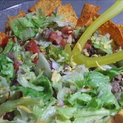 Kittencal's Taco Salad for a Crowd recipe