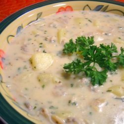 Mom's Clam Chowder recipe